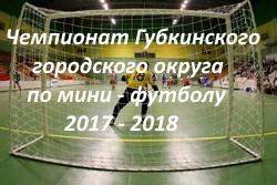 мини-футбол 2017-2018