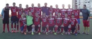 Команда старших юношей 1998-1999г.р. (тренер Федотов А.С.)